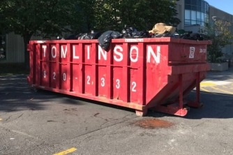 Food disposal bins