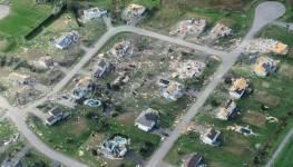 Neighborhood gone after tornado