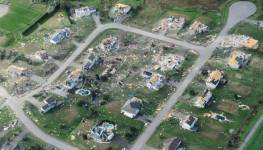 Neighborhood gone after tornado